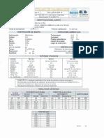 Certificado de calibracion de instrumentos