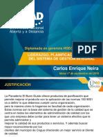 Tarea 01_liderazgo, Planificación y Apoyo Del Sistema de Gestión Integral_carlos_neira