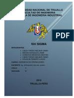 Informe Six Sigma