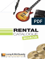 Rental Catalogue