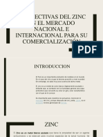 Perspectivas Del Zinc en El Mercado Nacional