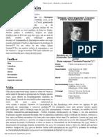 Pitirim Sorokin – Wikipédia, A Enciclopédia Livre