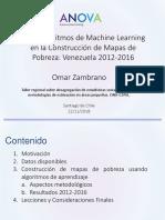 Uso Algoritmos Construcciono Mapas Pobreza Venezuela Omar Zambrano