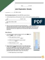 Density Gizmo