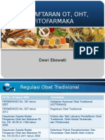 FITOFARMASETIK PENDAFTARAN OT dewieko-1.ppt