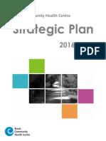 Brock CHC Strategic Plan 2016 19 FINAL