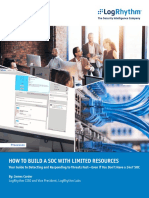 How to Build a Soc With Limited Resources White Paper