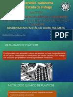 Presentación del Equipo I (Recubrimiento Metálico sobre Polímero)