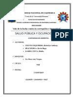 SALUD PUBLICA(contaminación ambiental)