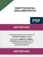 Post-Streptococcal Glomerulonephritis