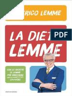 La Dieta Lemme - Alberico Lemme