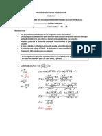 Correccion Examen Seg Hemi Cálculo Diferencial 2