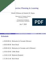 MORL (Multiple objective Reinforcement Learning)