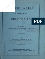 Legge-Confucianism in Relation to Christianity