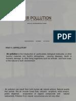 Air Pollution- Delhi case studies