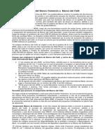 Analisis Del Banco Del Cafe y Banco de Comercio