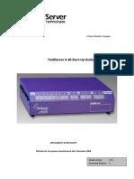 FieldServer FSX40 Start Up Guide