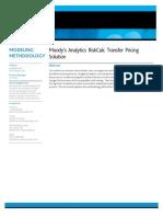 Moodys Analytics Riskcalc Transfer Pricing Solution