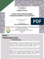 Slide Lapkas Neurologi - Afasia  pada stroke iskemik.pptx