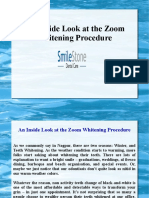 An Inside Look at the Zoom Whitening Procedure