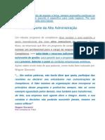 Compliance - Suporte Da Alta Administração