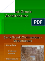 Architecture in Greek