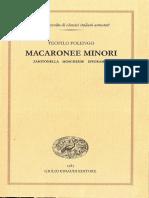 macorone minore