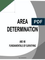 Area Determination