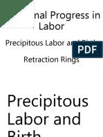 Eming Report Precipitous Labor