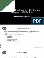 Week 13 Instit Elec Eleltronic Eng Referencing