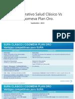 Comparativo Salud Clásico vs Coomeva Septiembre de 2014