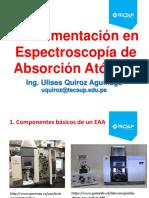 CLASE 02 - Instrumentación en Espectroscopía de Absorción Atómica 2019-2