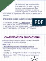 CLASIFICACION EDUCACIONAL