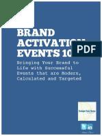Brand Activation 101