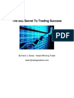 The Big Secret to Trading Success