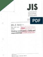 JIS Z 3410