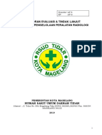 Evaluasi Program Pengelolaan Peralatan Radiologi 2019