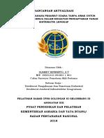 laporan aktualisasi bpn 2017