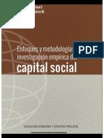 Enfoque y metodologías para la investigación empírica del capital social
