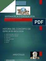 Sistematica y Evolucion