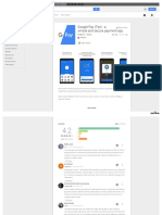 PDF view of the Gpay app