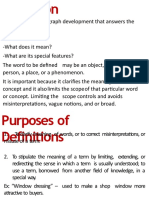 EAPP the Art of Defining