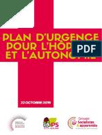 Un plan d'urgence pour l'hôpital public et l'autonomie