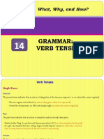 14 Verb Tenses
