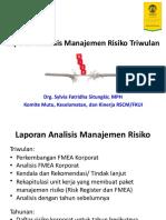 Slide Workshop Manrisk Laporan Triwulan External