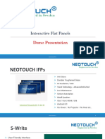 Neotouch Interactive Flat Panel Overview