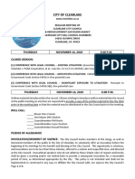 111419 Clearlake City Council Agenda Packet
