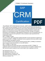 SAPC_TCRM20_73CertificationDescription569