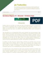 Textos de Magia Traducidos_ Servidores Mágicos 10 - Ubicación - El Defecto Fatal