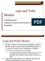 Probit and Logit-madesh